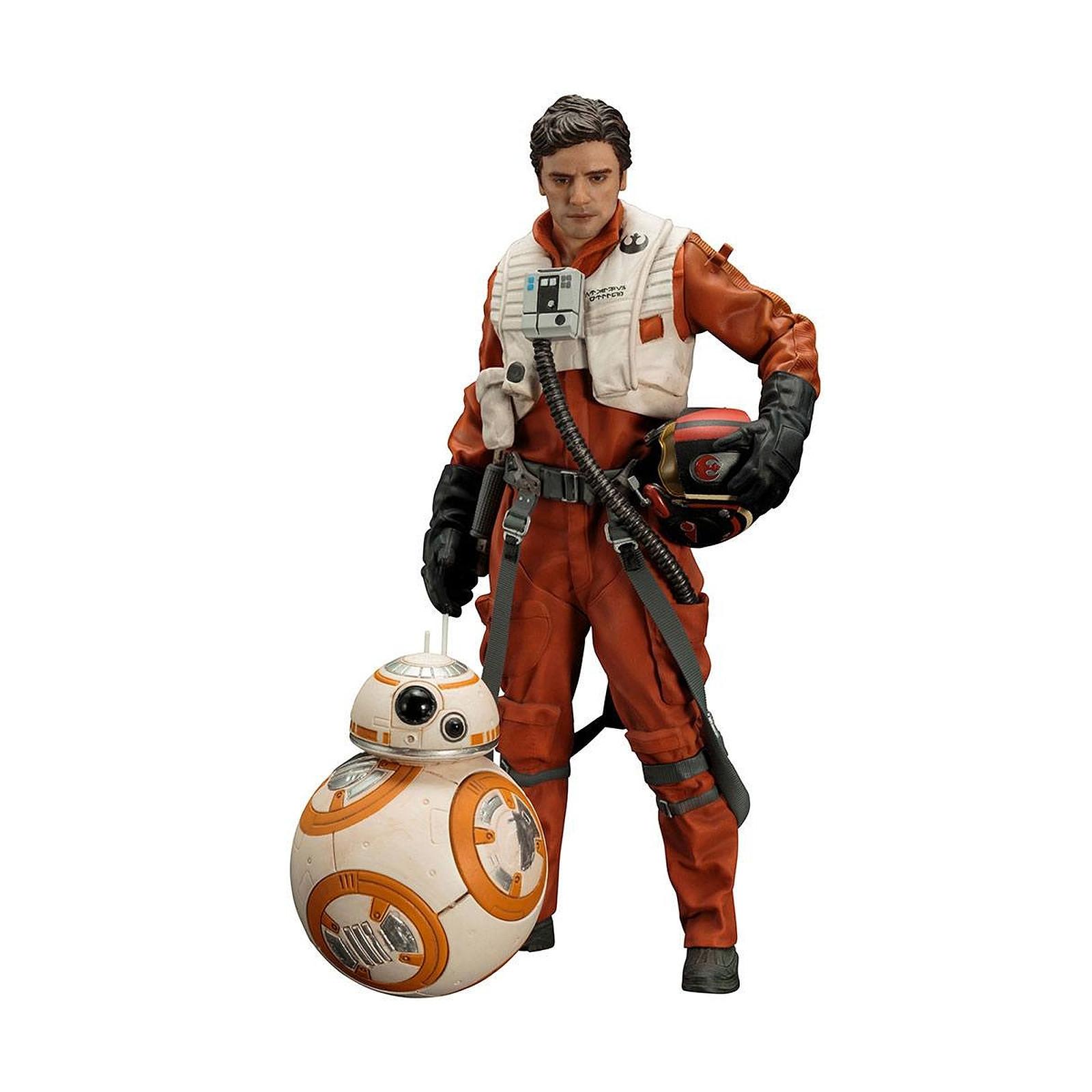 Star Wars Episode VII - Pack 2 statuettes 1/10 ARTFX+ Poe Dameron & BB-8 7 - 18 cm