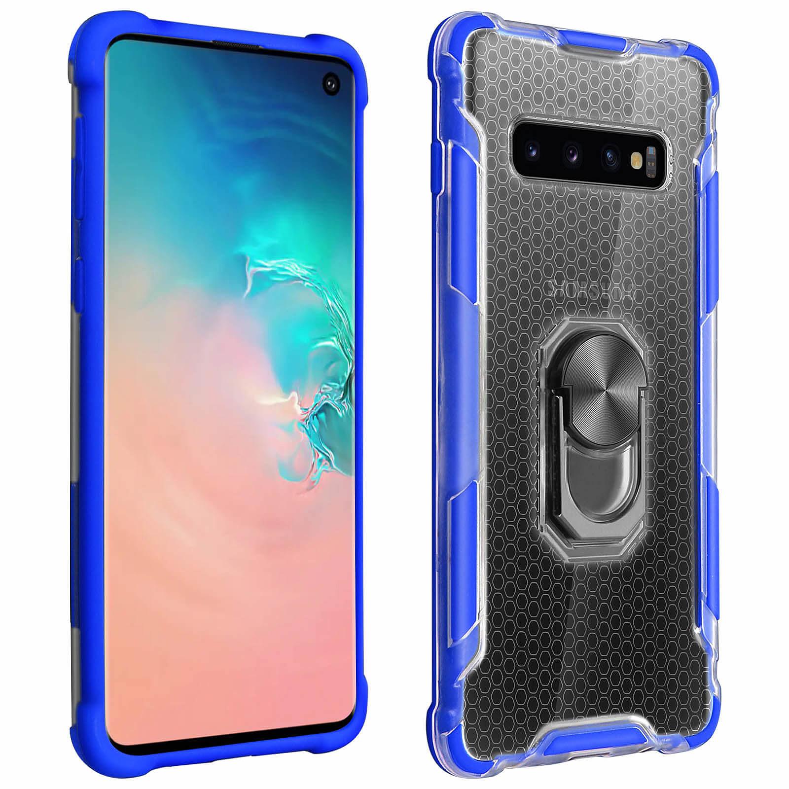 Avizar Coque Bleu pour Samsung Galaxy S10