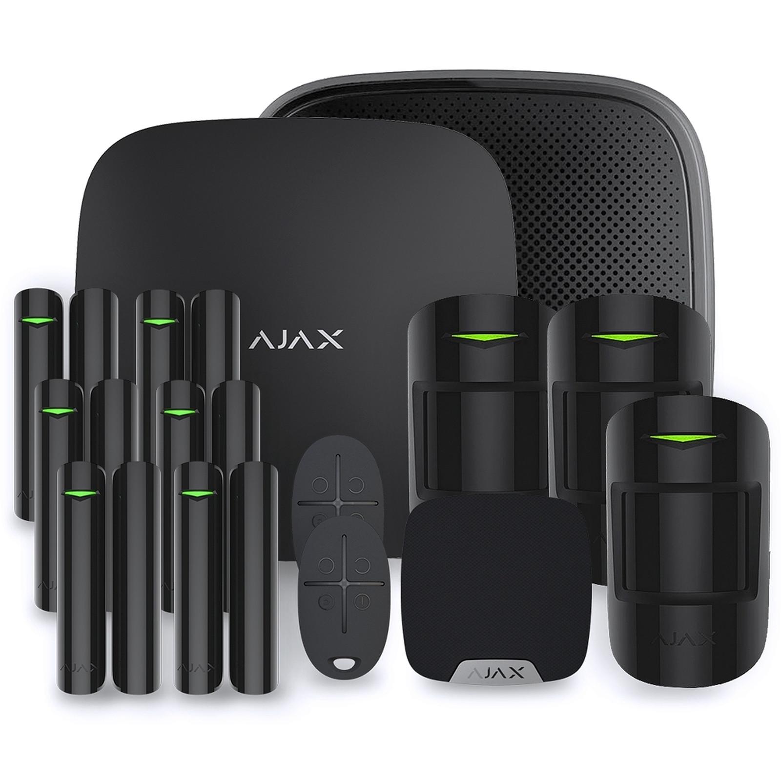 Ajax Alarme maison StarterKit noir  Kit 5