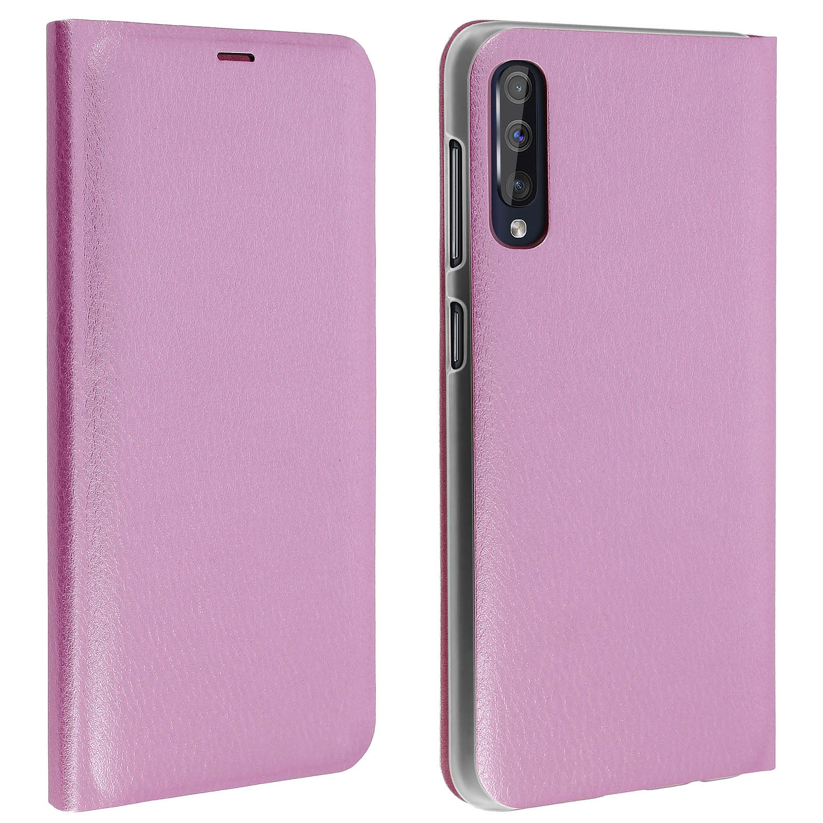 Avizar Etui folio Rose pour Samsung Galaxy A50 , Samsung Galaxy A30s