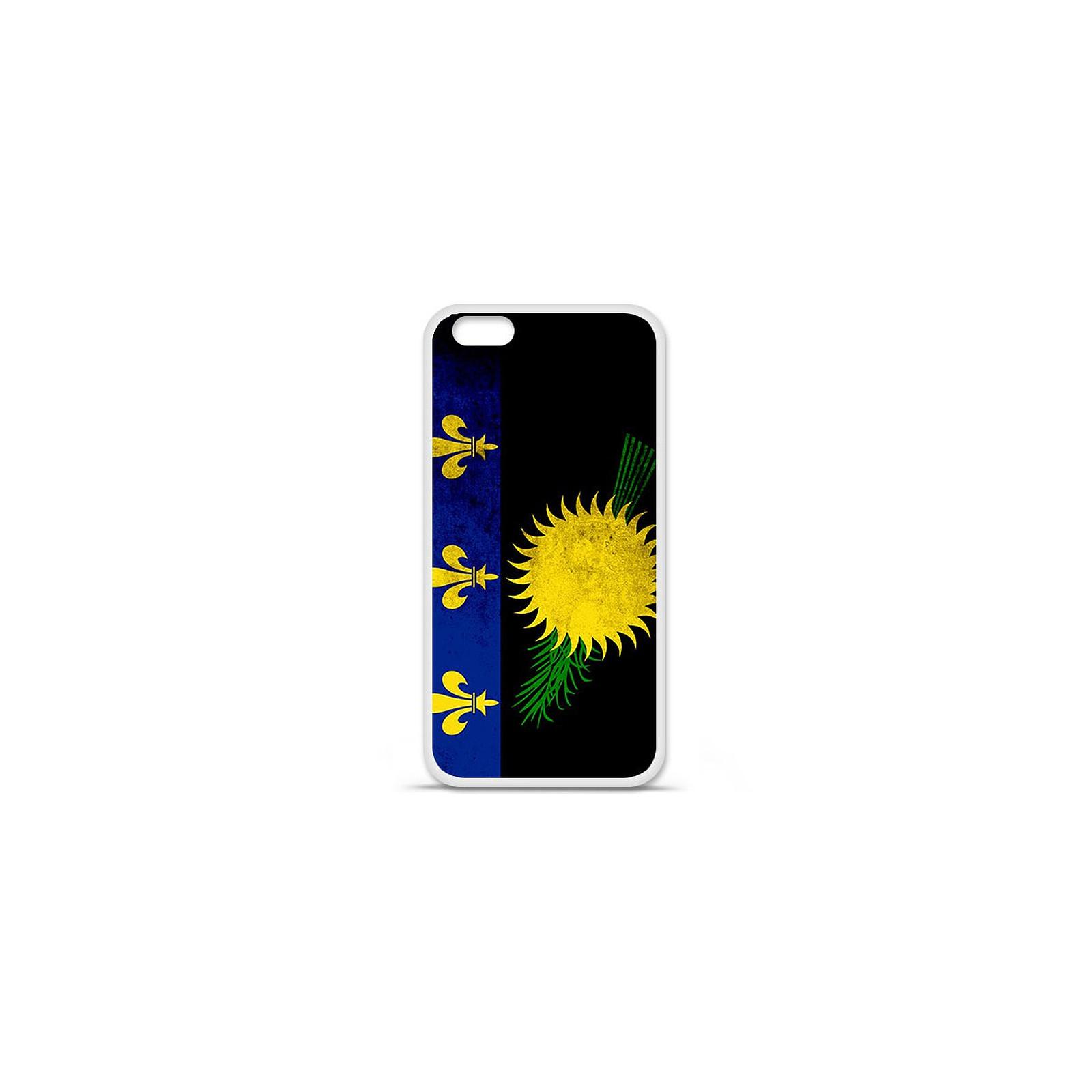 1001 Coques Coque silicone gel Apple IPhone 7 Plus motif Drapeau Guadeloupe