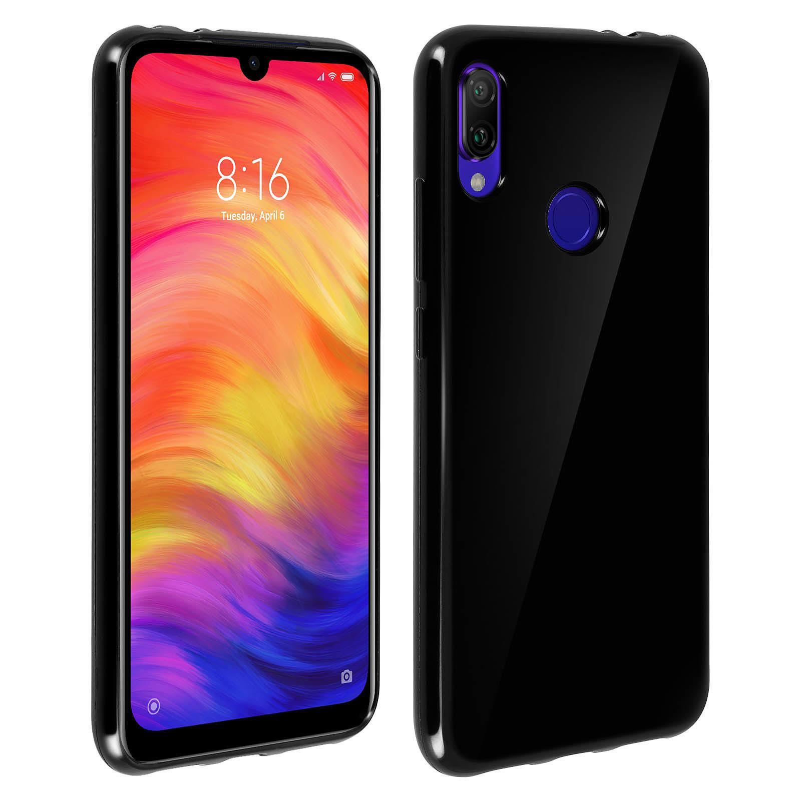 Avizar Coque Noir pour Xiaomi Redmi Note 7