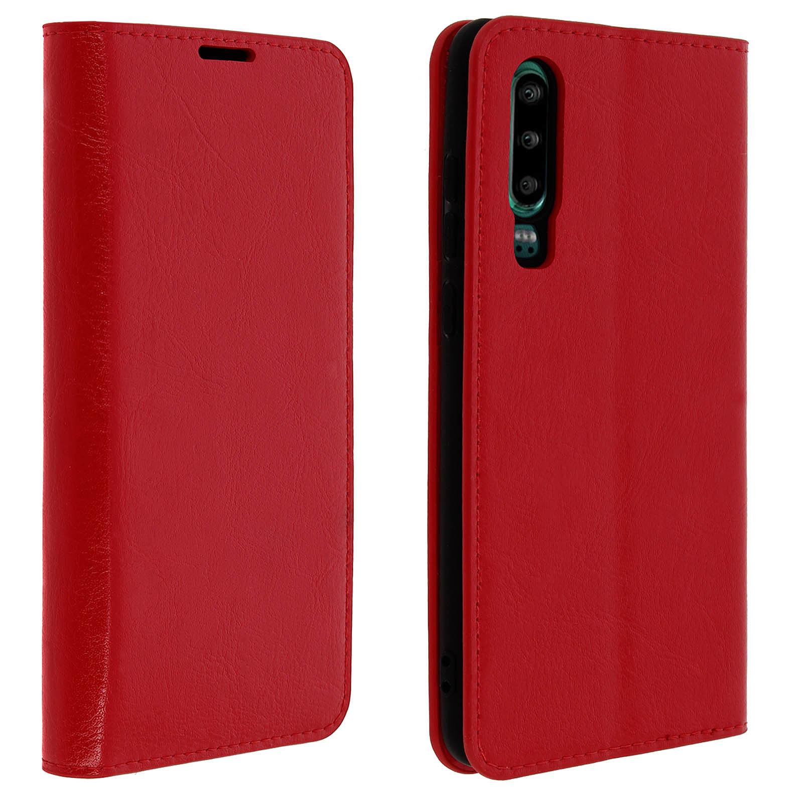 Avizar Etui folio Rouge pour Huawei P30