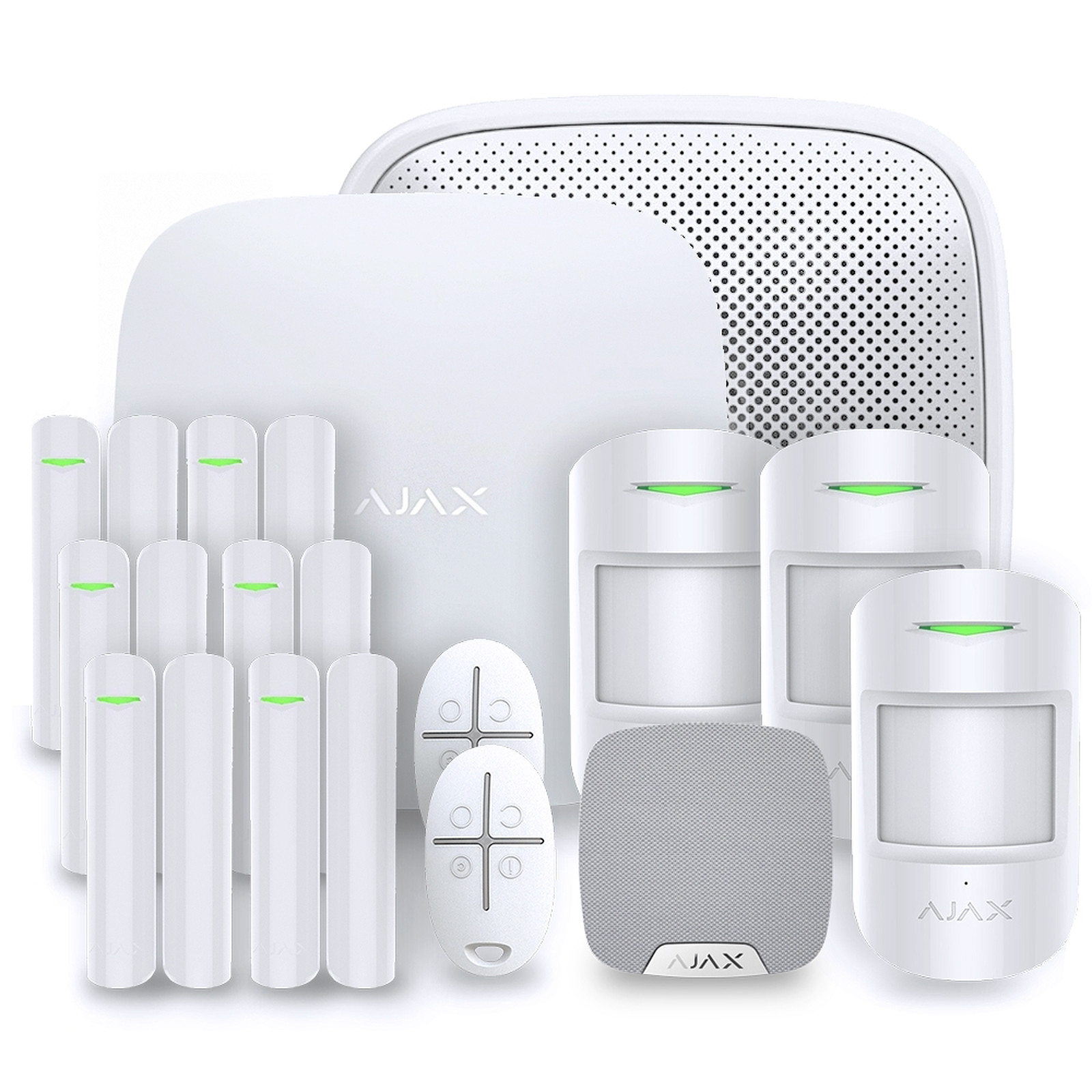 Ajax Alarme maison StarterKit blanc  Kit 5