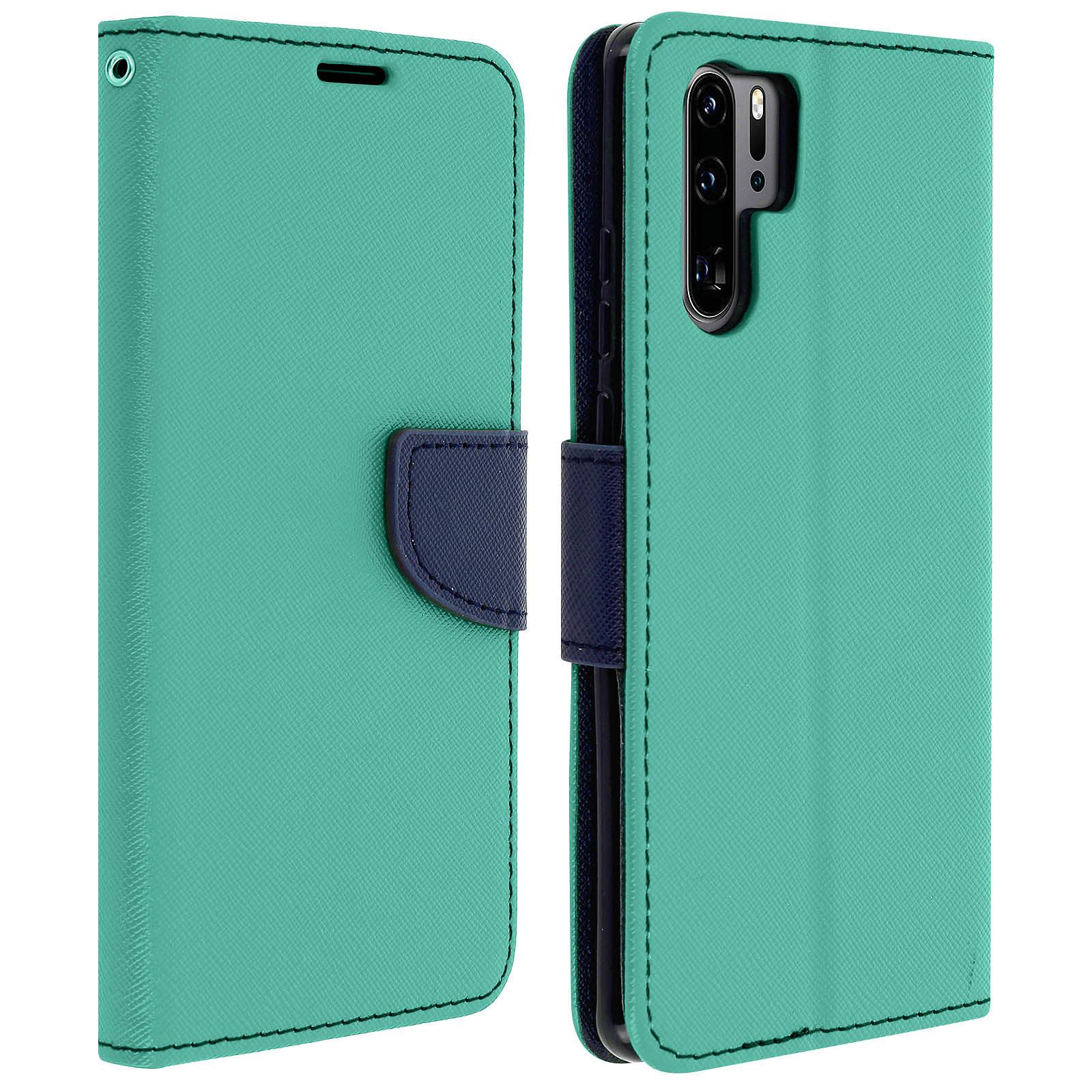 Avizar Etui folio Vert pour Huawei P30 Pro