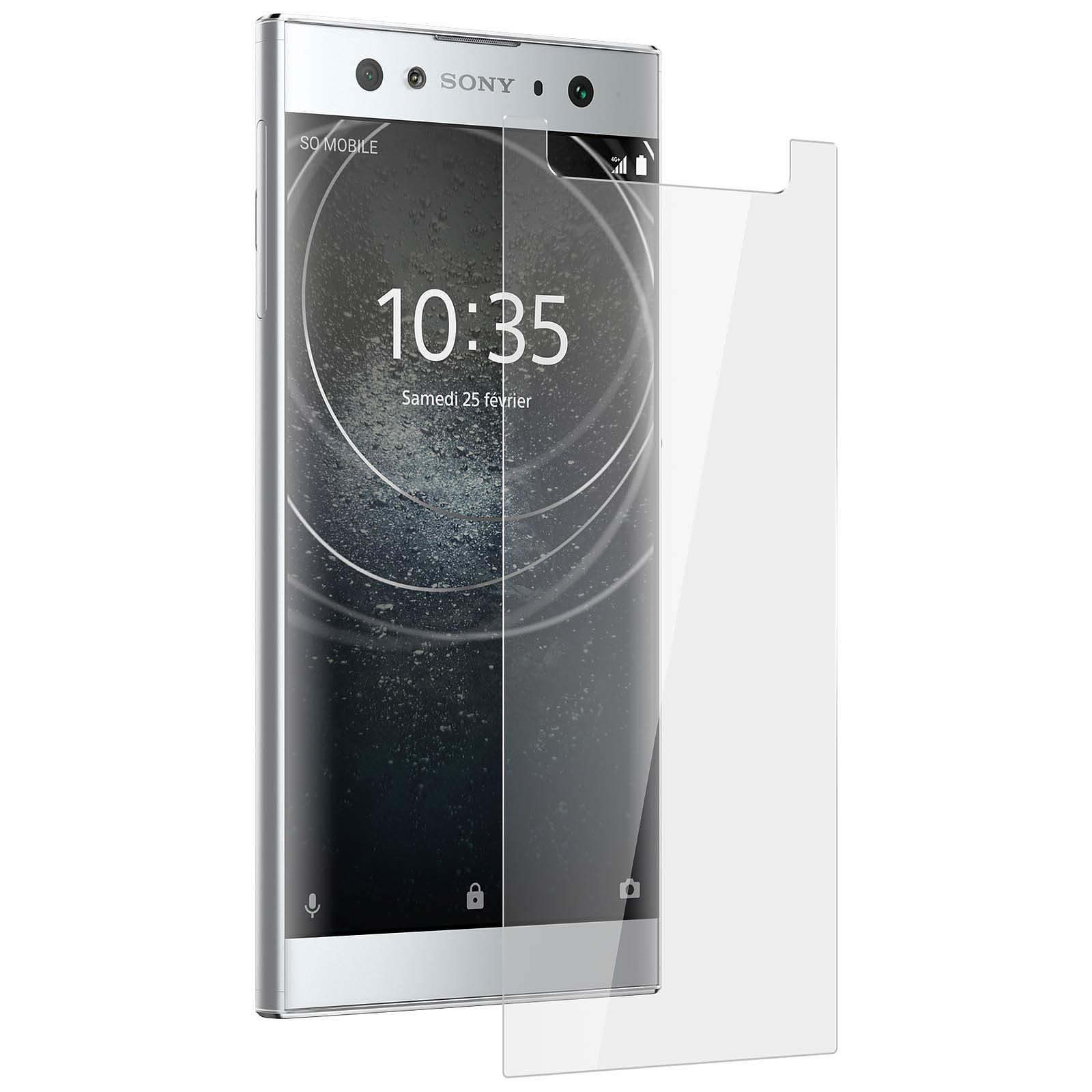 Avizar Film verre trempé Transparent pour Sony Xperia XA2 Ultra