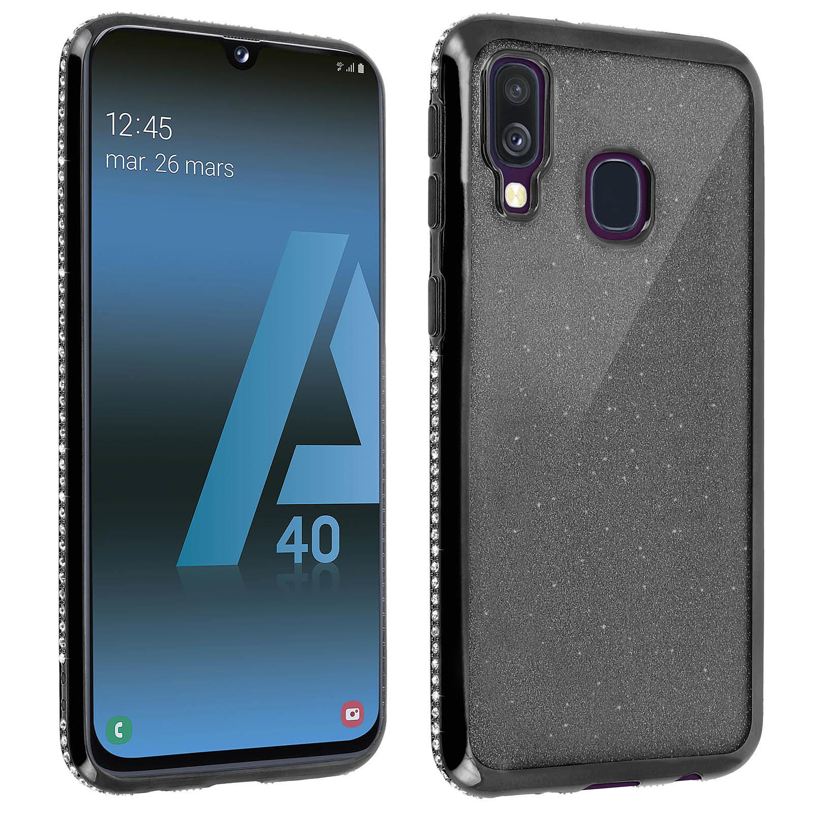 Avizar Coque Noir pour Samsung Galaxy A40