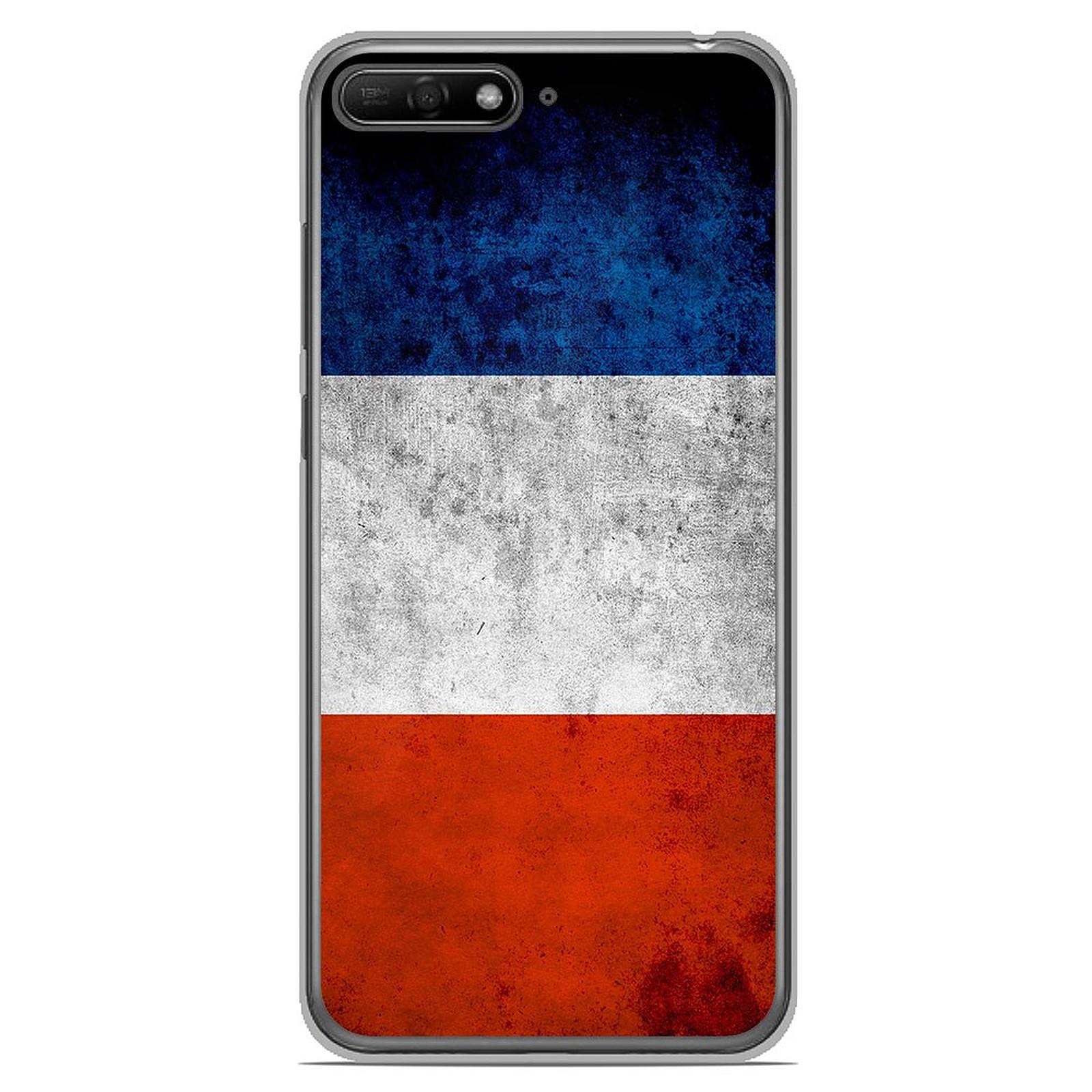 1001 Coques Coque silicone gel Huawei Y6 2018 motif Drapeau France - Coque téléphone 1001Coques sur LDLC.com