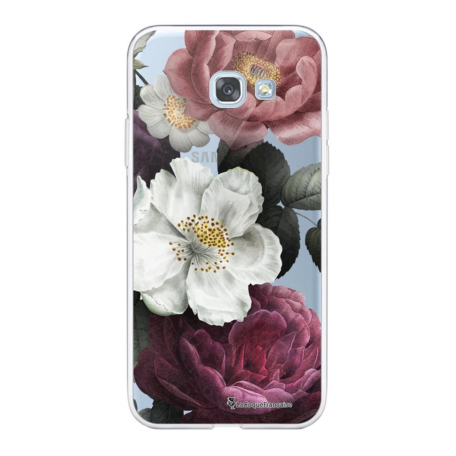 LA COQUE FRANCAISE Coque Samsung Galaxy A5 2017 360 intégrale transparente Fleurs roses Tendance - Coque téléphone LaCoqueFrançaise sur LDLC