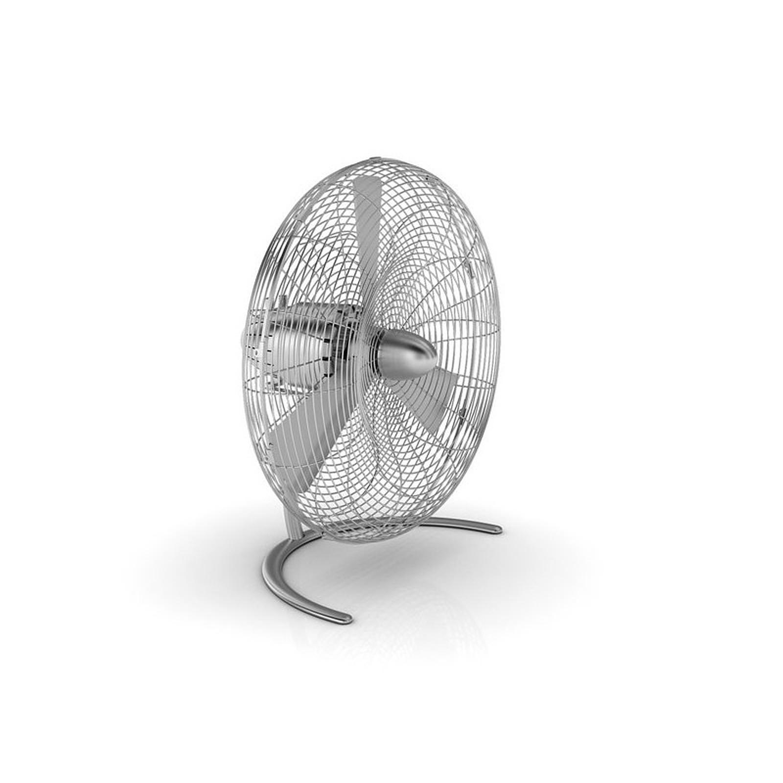 StadlerForm - Ventilateur CHARLY Floor - Acier inox