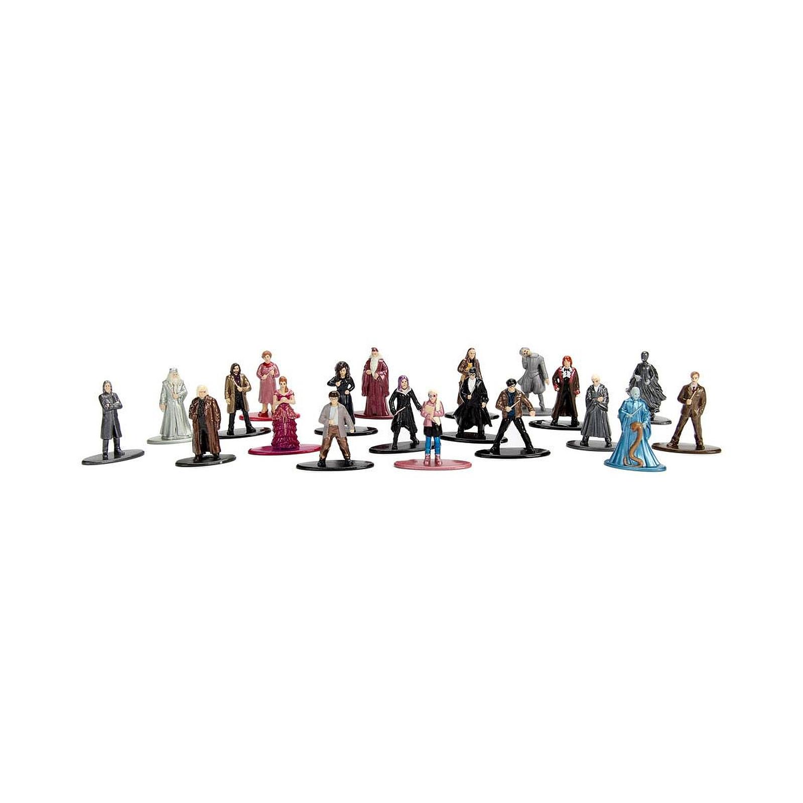 Harry Potter - Pack 20 figurines Diecast Nano Metalfigs Wave 2 4 cm