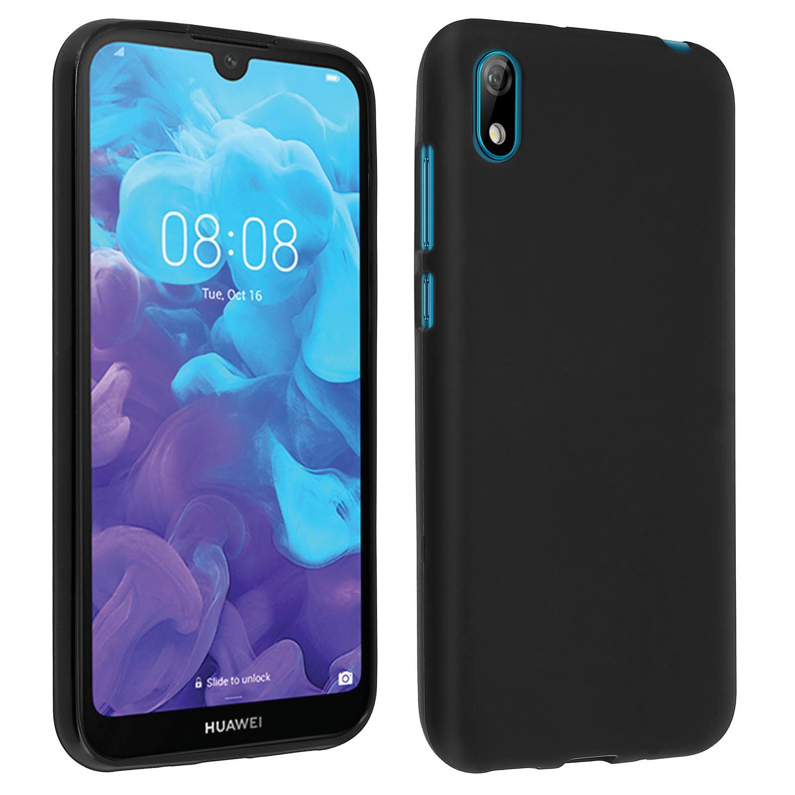 Avizar Coque Noir Souple pour Huawei Y5 2019 , Honor 8S