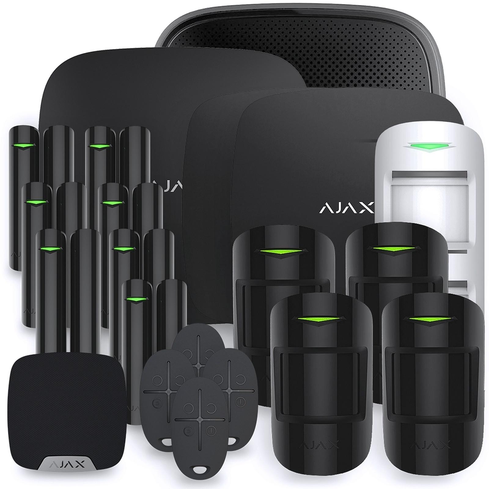 Ajax Alarme maison StarterKit noir  Kit 12