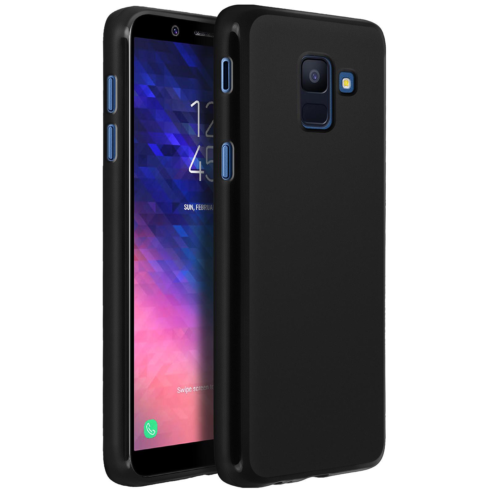 Avizar Coque Noir pour Samsung Galaxy J6