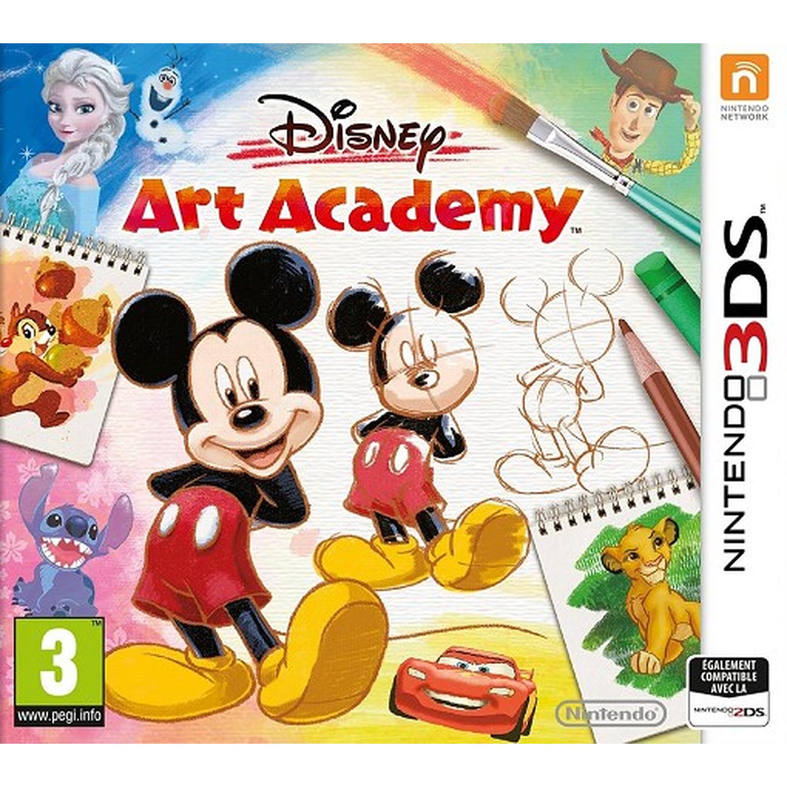 Disney Art Academy 3DS  (DS)