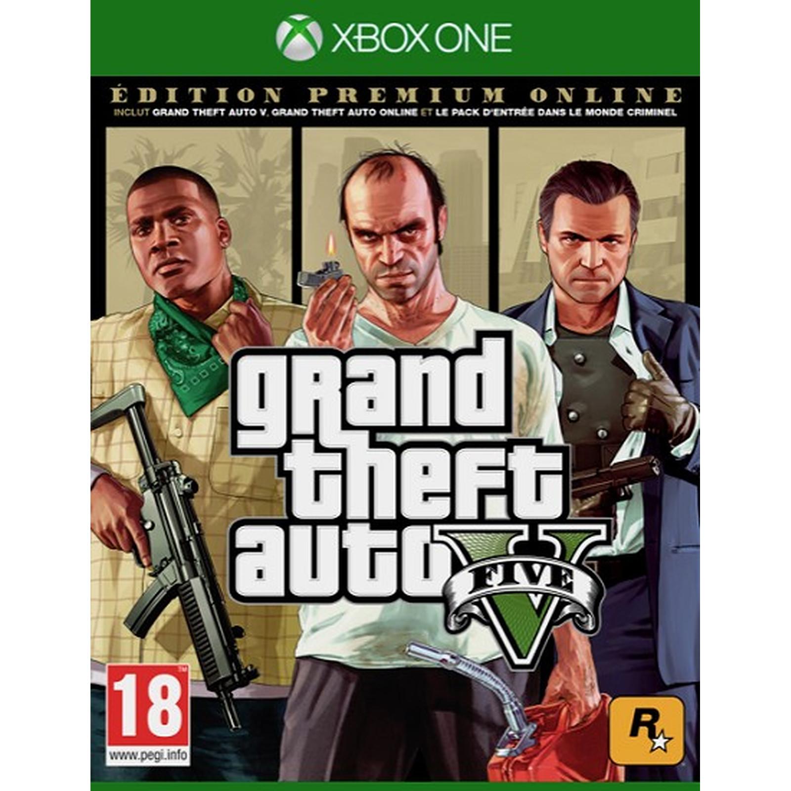GTA V Premium Online Edition (XBOX ONE)