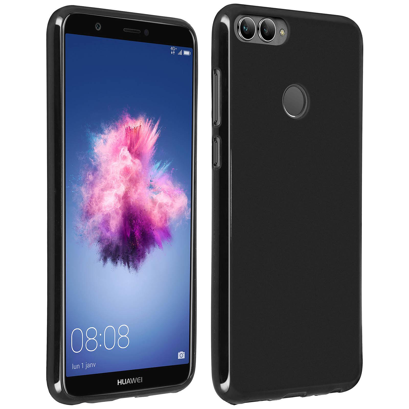 Avizar Coque Noir Souple pour Huawei P Smart
