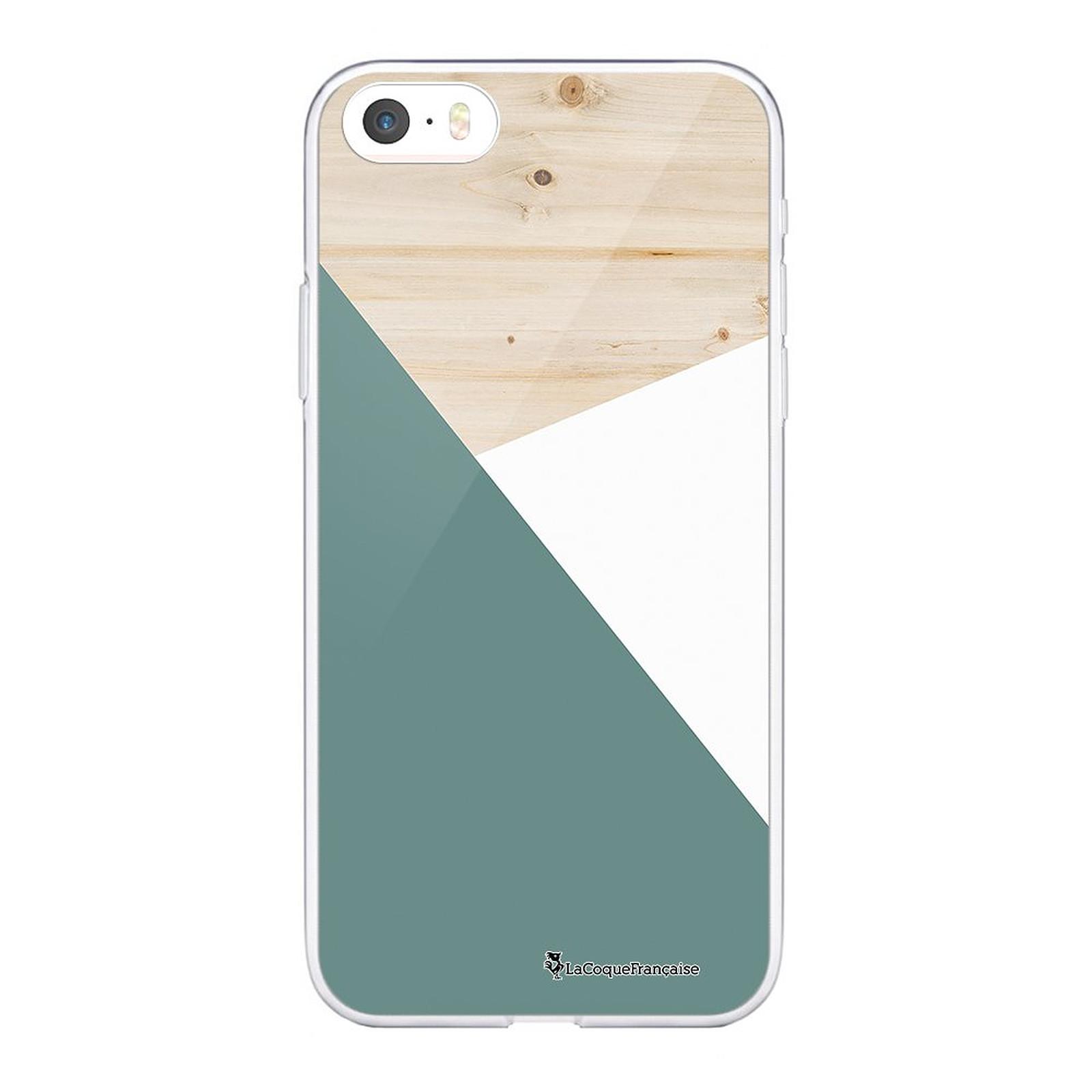 LA COQUE FRANCAISE Coque iPhone 5/5S/SE souple transparente Triobois - Coque téléphone LaCoqueFrançaise sur LDLC