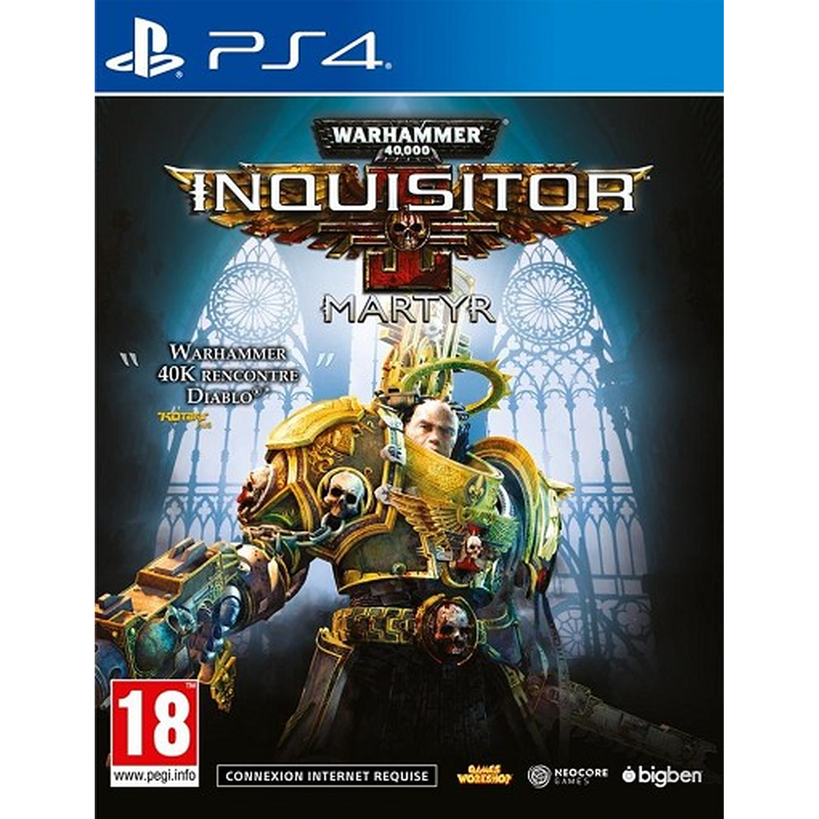 Warhammer 40.000 Inquisitor Martyr (PS4)