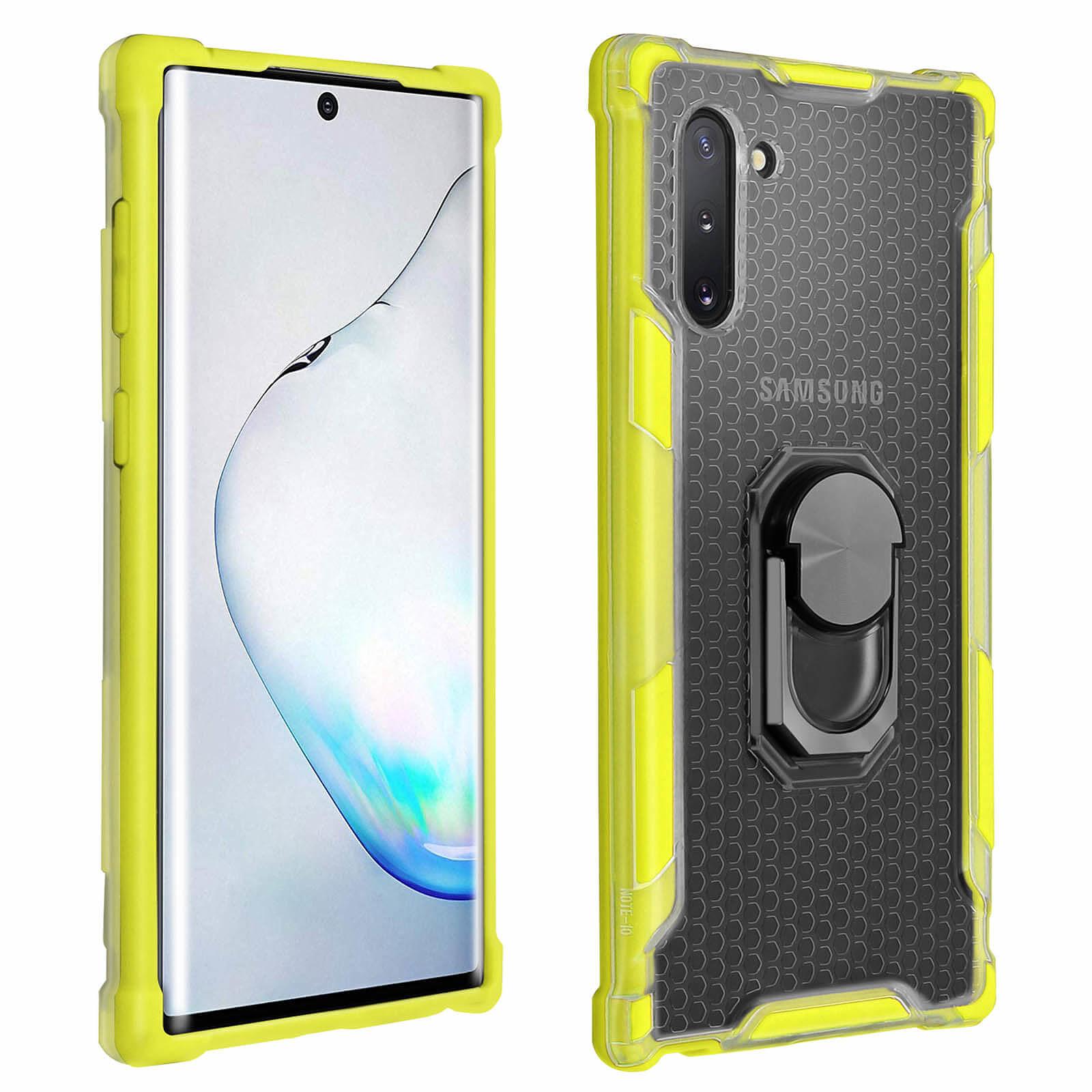 Avizar Coque Jaune Hybride pour Samsung Galaxy Note 10