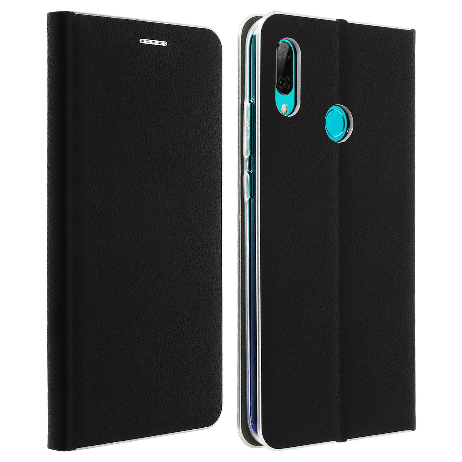 Avizar Etui folio Noir pour Huawei P Smart 2019 , Honor 10 Lite