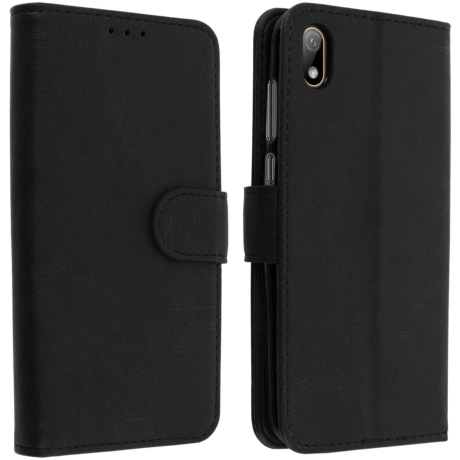 Avizar Etui folio Noir pour Huawei Y5 2019 , Honor 8S