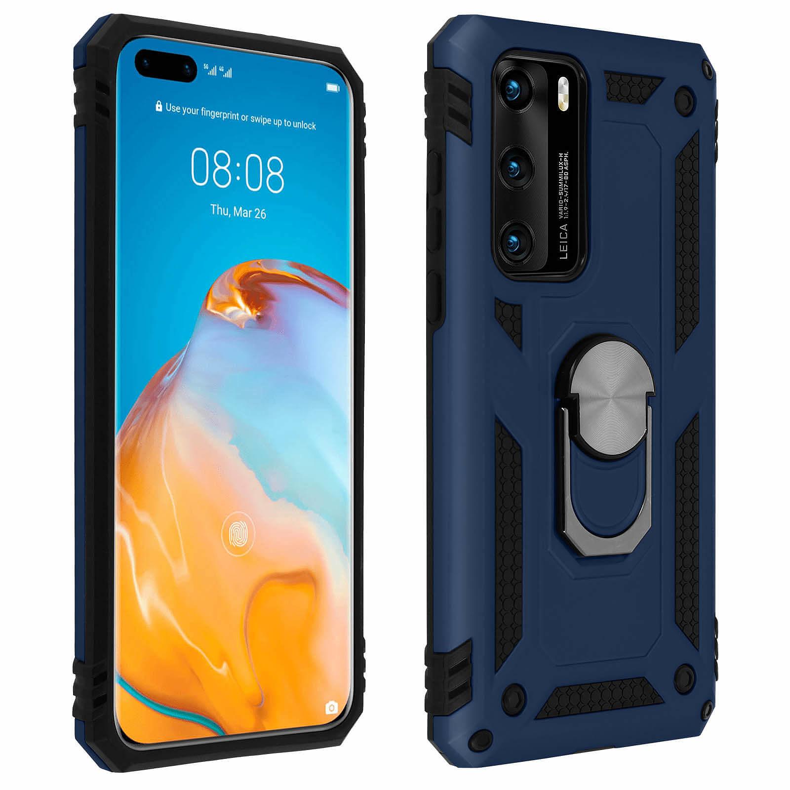 Avizar Coque Bleu Nuit pour Huawei P40