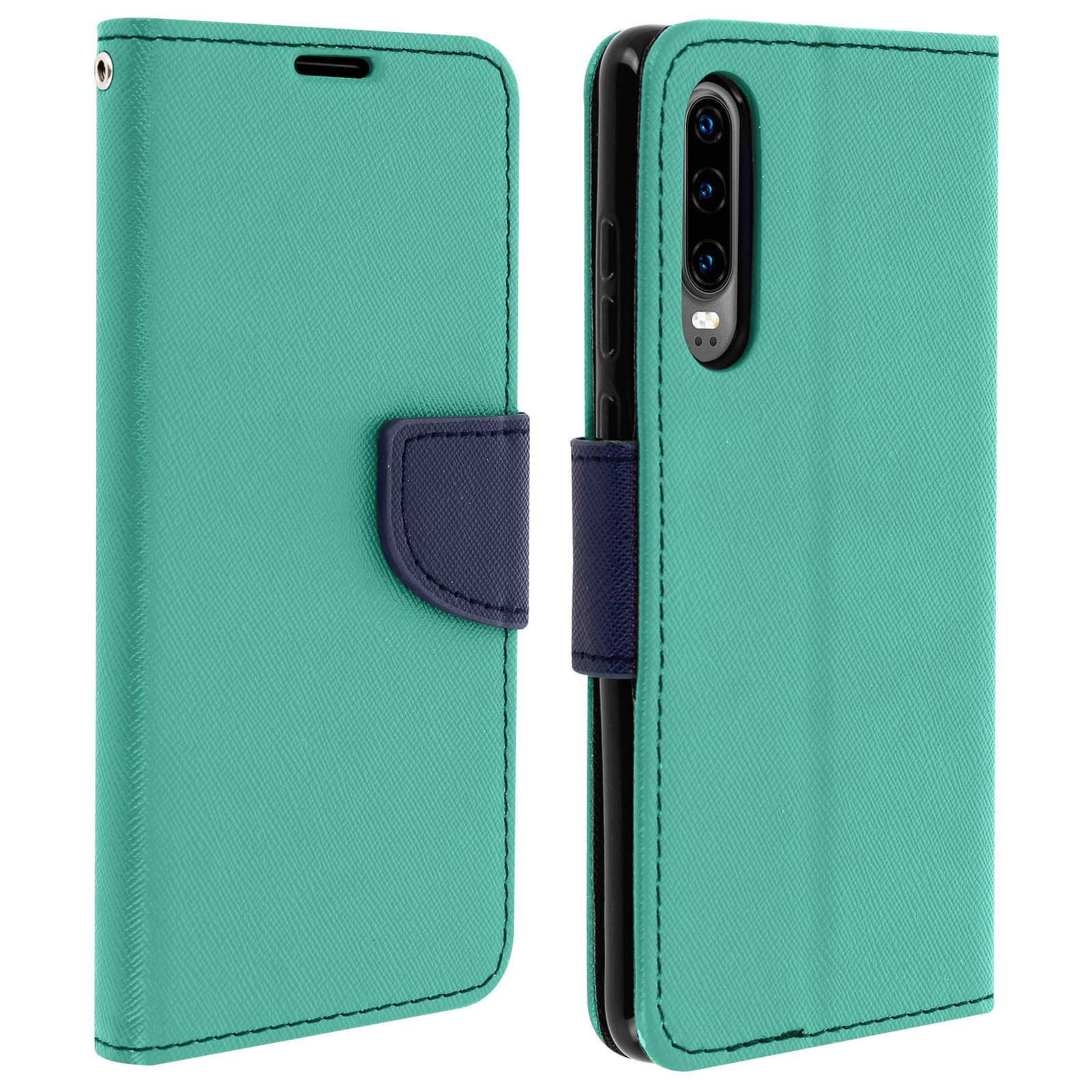 Avizar Etui folio Vert pour Huawei P30