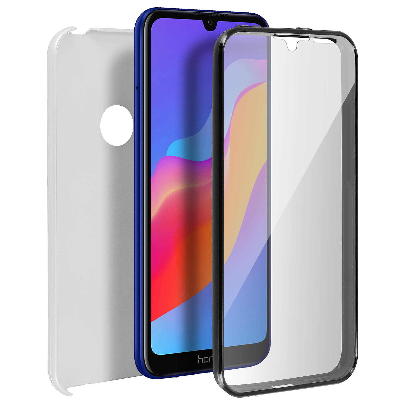 Avizar Coque Argent pour Honor 8A , Huawei Y6 2019 , Huawei Y6S