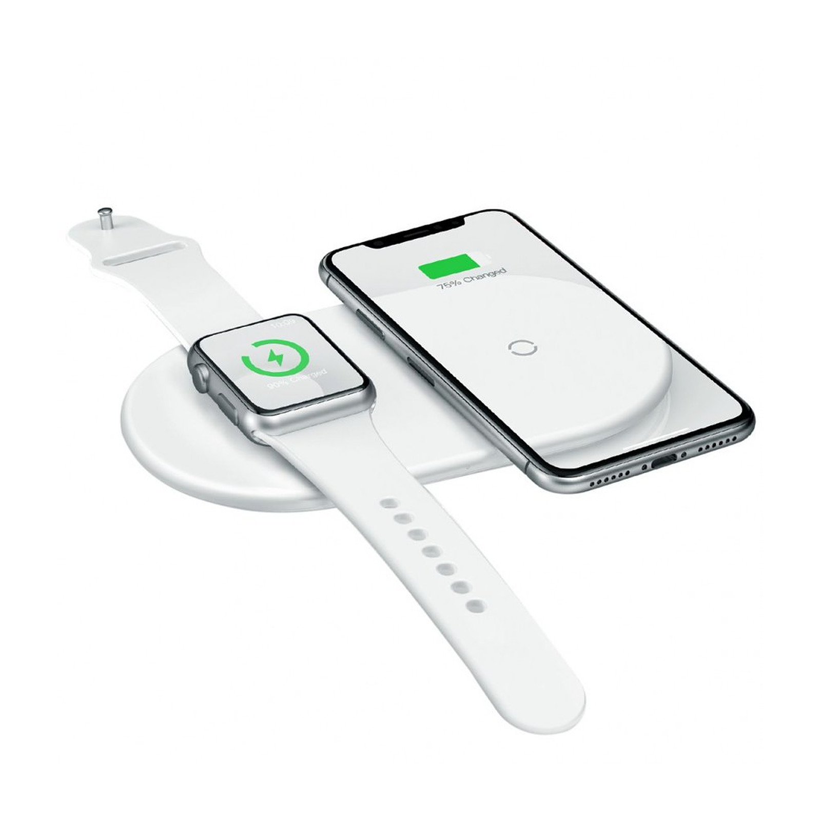 BASEUS Double chargeur induction Iphone X - iWatch
