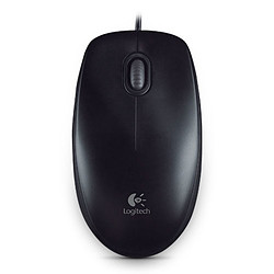 Logitech B100 Optical USB Mouse (Noir)