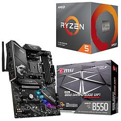 Kit Upgrade PC AMD Ryzen 5 3600 MSI MPG B550 GAMING EDGE WIFI