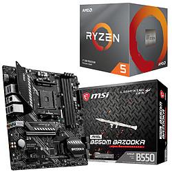 Kit Upgrade PC AMD Ryzen 5 3600 MSI MAG B550M BAZOOKA
