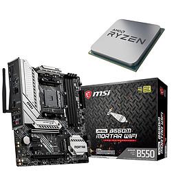 Kit Upgrade PC AMD Ryzen 7 3800X MSI MAG B550M MORTAR WIFI