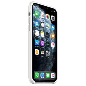 2PC Coque iPhone 11 PRO MAXKAWS Blanc Noir Anti