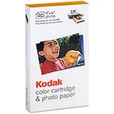 KODAK - PH-40 Cartouche couleur + Papier photo - 10 x 15 - 40 Feuilles