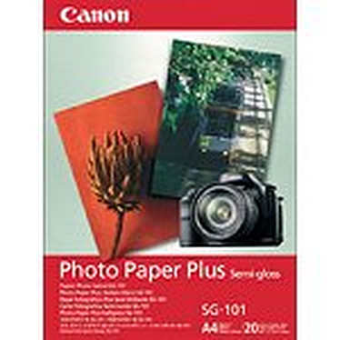 Canon SG-101 - Papier photo satiné, 260g/m2 (A4 - 20 feuilles)