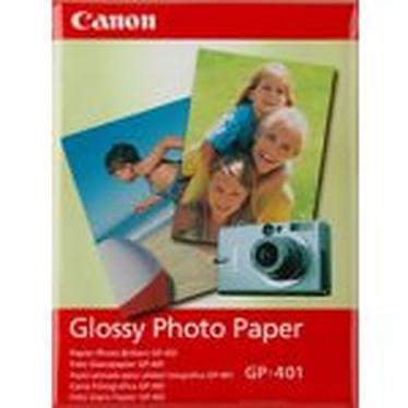Canon GP-401 - Papier Photo Glacé, 190g/m² (10x15cm - 50 feuilles)