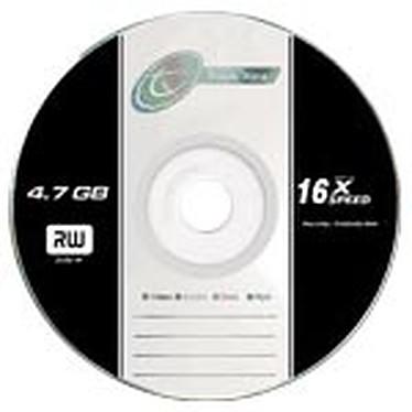 Tx DVD+R 4.7 Go Certifié16x (pack de 10, spindle)