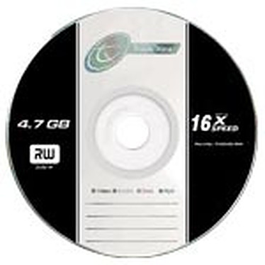 Tx DVD+R 4.7 Go Certifié 16x (pack de 5, spindle)
