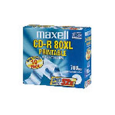 Maxell CD-R Pro (pack de 10, boîtier slim)