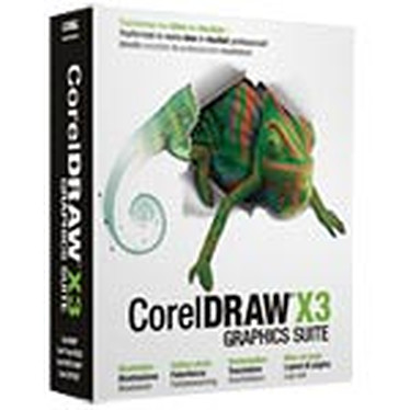 Corel Suite graphique CorelDRAW X3
