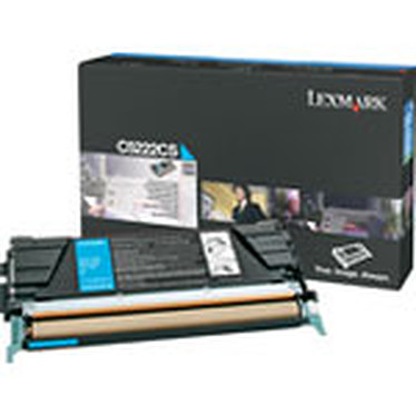 Lexmark C5222CS - Toner Cyan Standard (3000 pages à 5%)