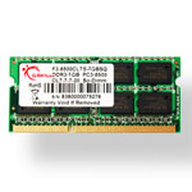 G.Skill SODIMM 2 Go DDR3 1066 MHZ