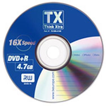 Tx DVD+R 4.7 Go Certifié 16x