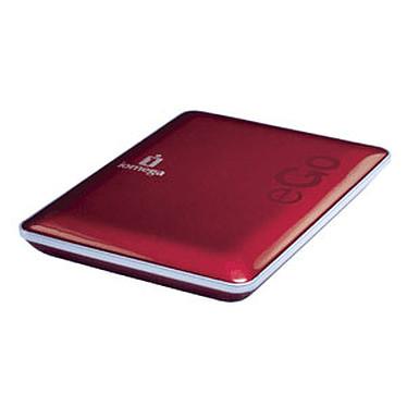 Iomega eGO Portable Hard Drive Mac Edition 500 Go Rouge (USB 2.0/FireWire400/800)