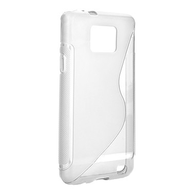 xqisit TPU Sleeve Transparent xqisit TPU Sleeve Transparent - Coque pour Samsung Galaxy S II