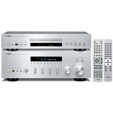 Yamaha R-S700 + CD-S300 Argent
