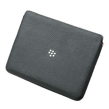 BlackBerry PlayBook Leather Sleeve Noir Etui en cuir pour BlackBerry PlayBook
