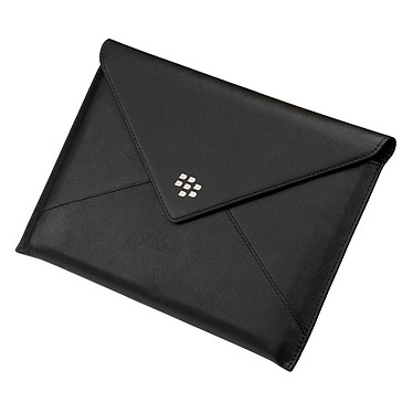 BlackBerry PlayBook Leather Envelope Noir Etui en cuir pour BlackBerry PlayBook